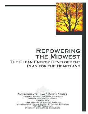 Repowering the Midwest: The Clean Energy Development Plan for the Heartland