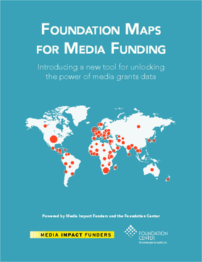Foundation Maps for Media Funding