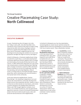 Creative Placemaking Case Study: North Collinwood