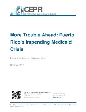 More Trouble Ahead: Puerto Rico's Impending Medicaid Crisis