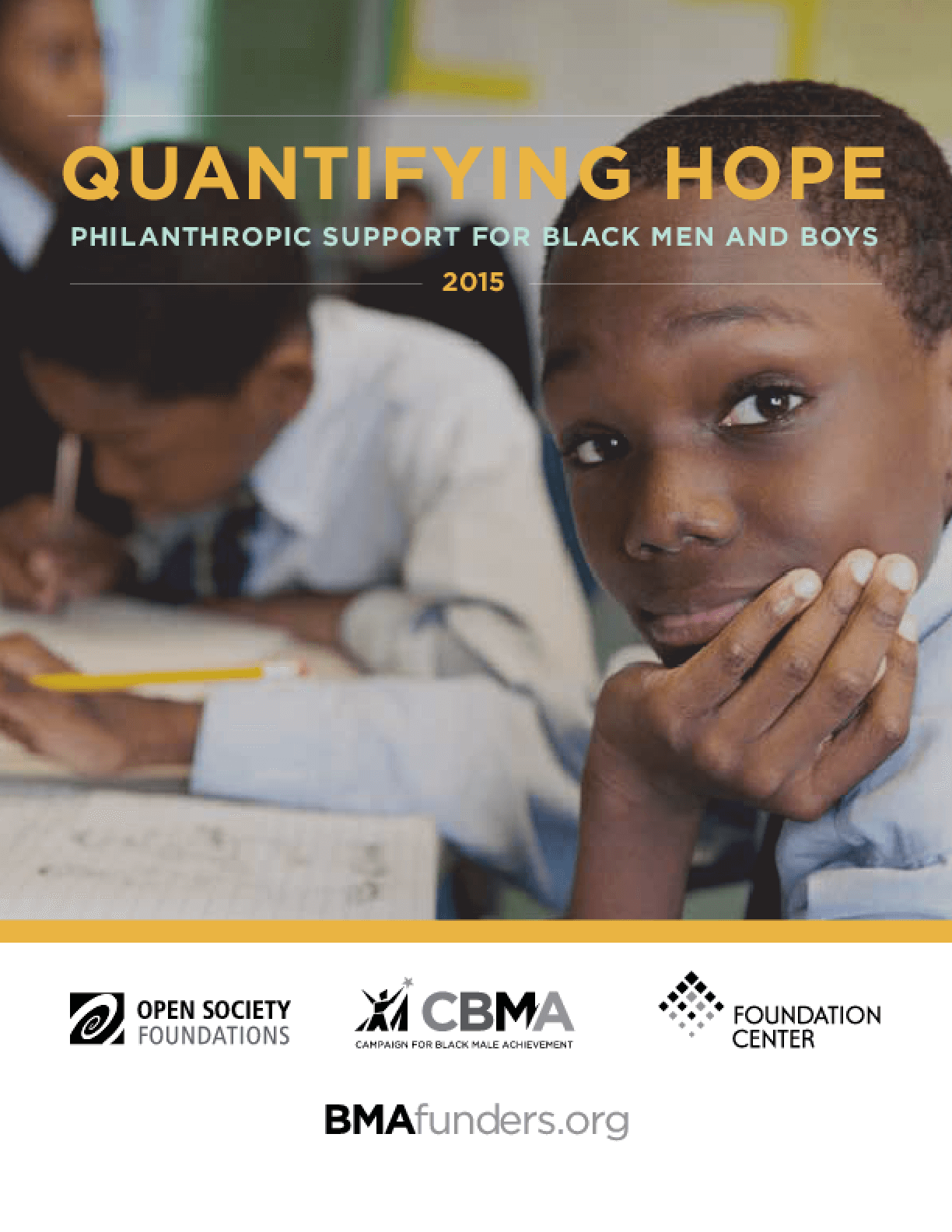 Quantifying Hope: Philanthropic Support for Black Men and Boys